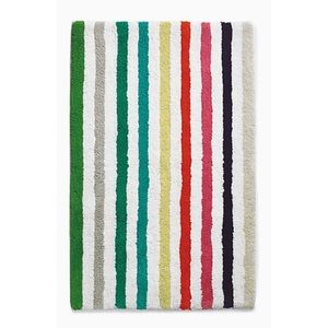 🆕 Kate Spade Candy Stripe Bath Mat NWT